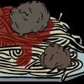 Spaghetti and meatballs Teaford style