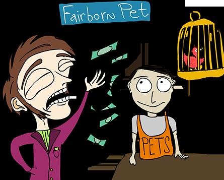 Fairborn Pet appreciates your business