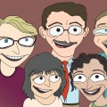 caricature-mike-s-family