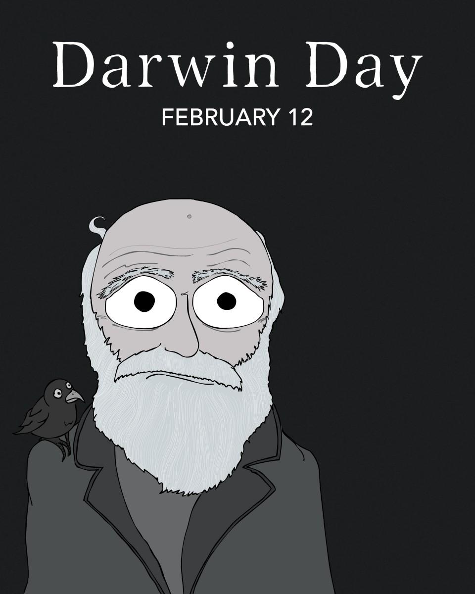 Charles Darwin - Born February 12th